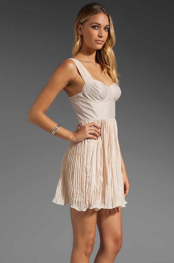BB Dakota Abella Chiffon Dress