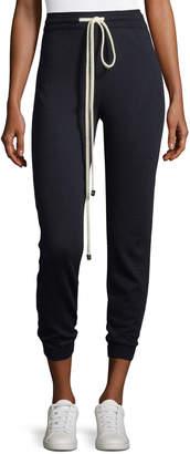 Oscar de la Renta Wool Jogger Pants