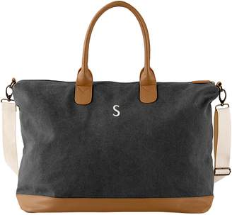 Cathy's Concepts Monogram Oversize Canvas Tote