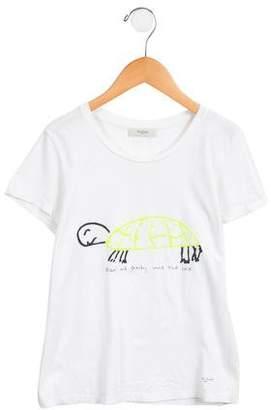 Paul Smith Girls' Printed Short Sleeve Top