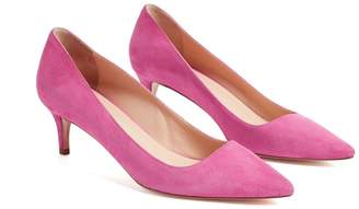 WtR - Star Pink Suede Pumps
