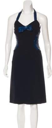 Chanel Silk Embellished Dress