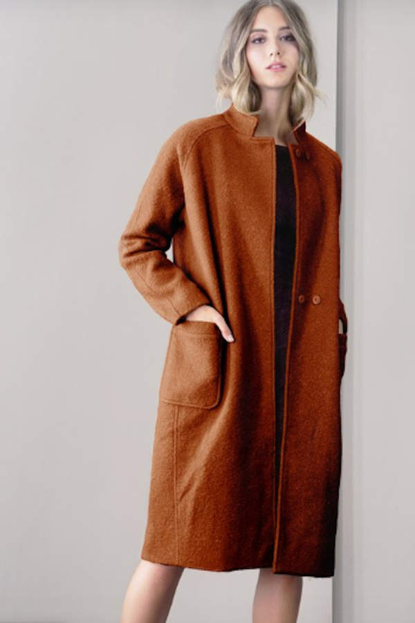 Rachel Boucle Coat