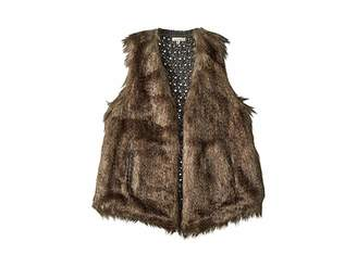 Ella Moss Faux Fur Vest (Big Kids)