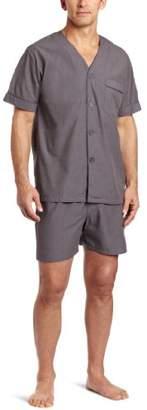 Majestic International Men's Eoe Shorty Pajama Set