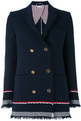 Thom Browne double breasted blazer $1,959 thestylecure.com