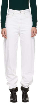 Etoile Isabel Marant White Corsy Jeans