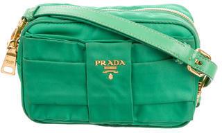 pradaPrada Fioccio Tessuto Crossbody Bag