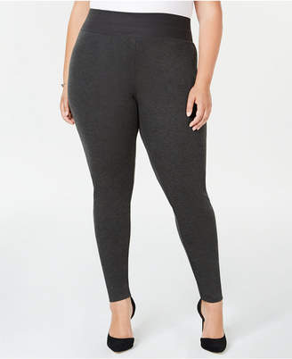 INC International Concepts I.n.c. Plus Size Smoothing Leggings, Created for Macy's
