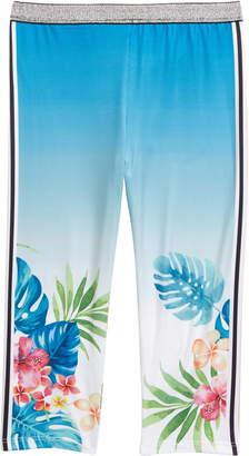 Truly Me Tropical Print Leggings