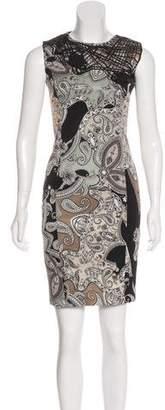 Etro Patterned Sheath Dress