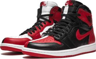Jordan Air 1 Retro High OG NRG 'Homage 2 Home (Non-Numbered)' - Black/University Red