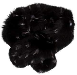Adrienne Landau Mathilda Fox Fur Stole
