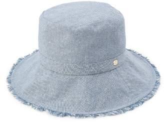 HusHusH (ハッシュアッシュ) - ハッシュアッシュ ふさふさツバハット帽
