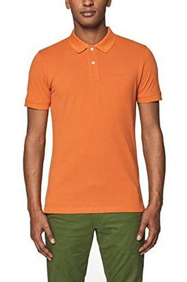 daf2c98c Esprit Men's 029EE2K034 Polo Shirt, Burnt Orange 815, ...