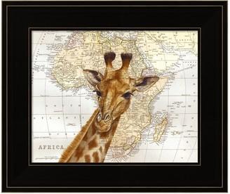 Out of Africa Metaverse Art Framed Wall Art