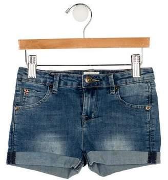 Hudson Girls' Five Pocket Denim Shorts
