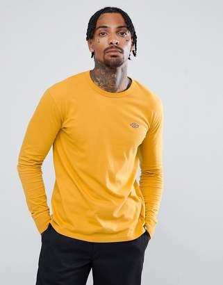 Dickies long sleeve t-shirt in yellow