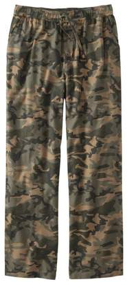 L.L. Bean Men's L.L.Bean Flannel Sleep Pants, Print