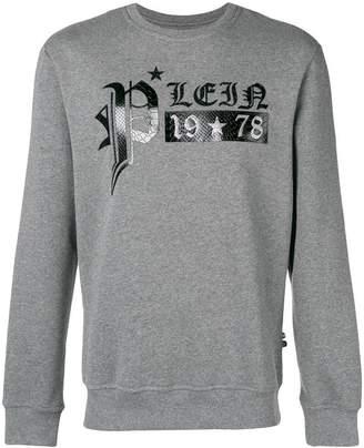Philipp Plein print jersey sweater