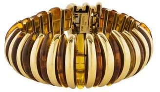 Tony Duquette 18K Amber Link Bracelet