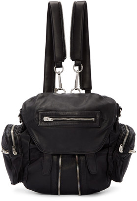Alexander Wang Black Mini Marti Backpack $795 thestylecure.com