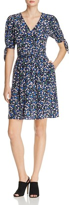 Rebecca Taylor Floral Silk Juliet Dress $395 thestylecure.com