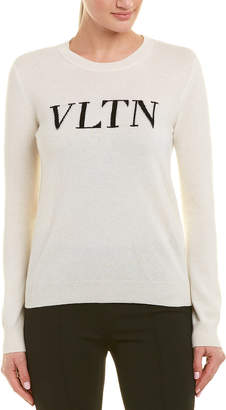 Valentino Vltn Wool & Cashmere-Blend Sweater