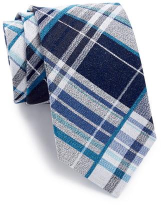 Ben Sherman Ryde Silk Plaid Tie $55 thestylecure.com