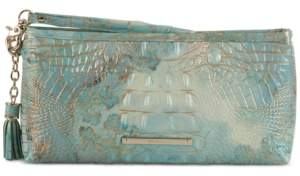 Brahmin Kayla Serendipity Melbourne Embossed Leather Clutch