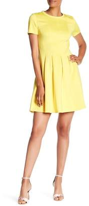 Catherine Malandrino Mellow Yellow Pleated Dress
