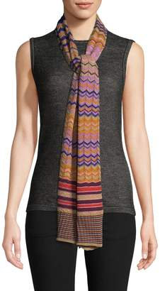 Missoni Women's Long Scarf with Rolled Edges