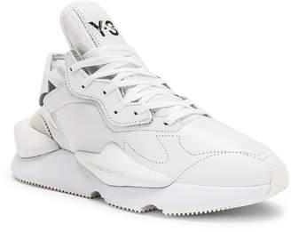 2ff509a8e Yohji Yamamoto Y 3 Y-3 Kaiwa Sneaker in White   Black
