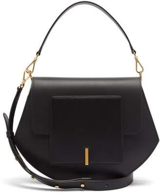 Wandler Al Smooth Leather Cross Body Bag - Womens - Black