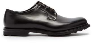 Church's Newbridge Leather Derby Shoes - Mens - Black