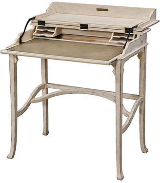 Theodore Alexander Country House Kaye Desk - Weathered White