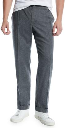 Incotex Men's Malon Wool Dress Pants