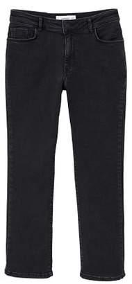 MANGO Jandri organic cotton straight jeans
