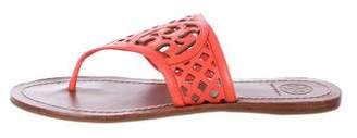 Tory Burch Leather Thong Sandals