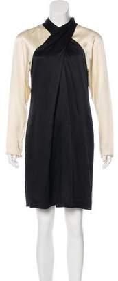 Temperley London Long Sleeve Silk Dress w/ Tags