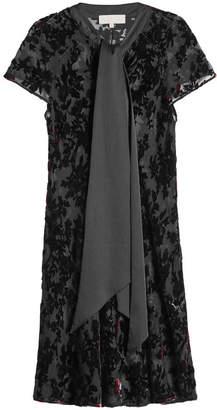 Marina Hoermanseder Dress with Silk and Velvet