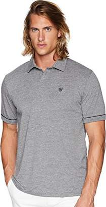 Brixton Men's Carlos Tailored Fit Short Sleeve Polo Knit