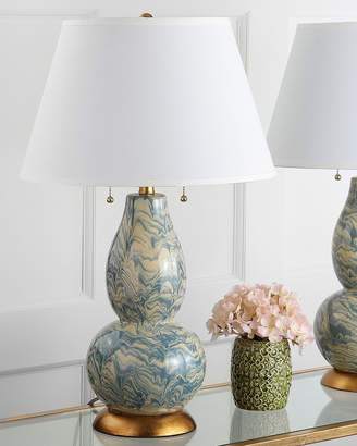 Safavieh Color Swirls Marbled Table Lamps, Set of 2