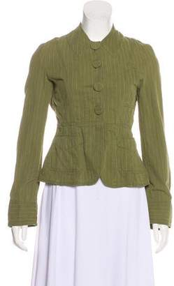 Marc by Marc Jacobs Striped Button-Up Jacket