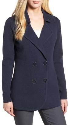 Nic+Zoe Polished Peacoat Jacket