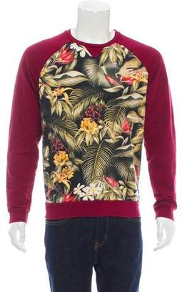 Ami Alexandre Mattiussi Printed Long Sleeve Sweater