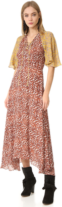 Derek Lam 10 Crosby Maxi Dress with Flutter Sleeves $850 thestylecure.com