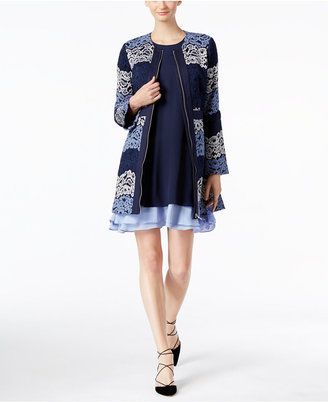 INC International Concepts Lace Coat, Only at Macy's $189.50 thestylecure.com