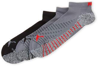 Puma 3-Pack Grip Low-Cut Socks