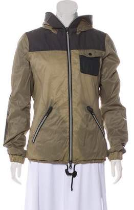 Duvetica Hooded Colorblock Jacket